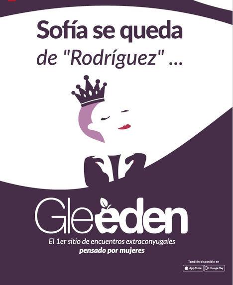 Gleeden reivindica a todas las mujeres que se quedan de Rodríguez
