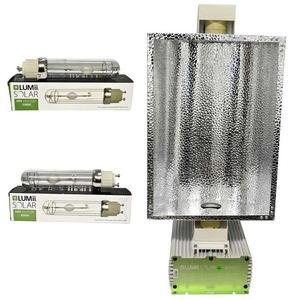 Luminaria LEC SOLAR 630W de LUMii con 2 bombillas.