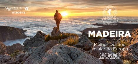 Madeira, elegida Mejor destino insular de Europa 2020 en los World Travel Awards