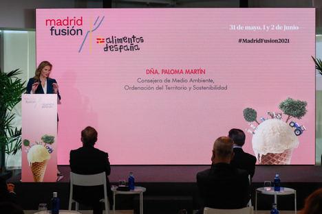 La Comunidad de Madrid organiza una treintena de actividades y talleres en Madrid Fusión para potenciar los productos madrileños en la alta cocina