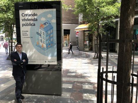 El Ayuntamiento de Madrid presenta la campaña 'Creando vivienda pública: si vendes tu casa, llámanos'