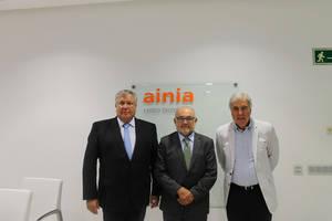 Manuel Garcia-Portillo, Damian Frontera y Sebastian Subirats.