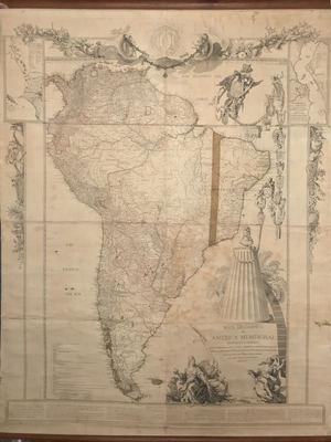 El Mapa de América Meridional de 1771 que pudo poner en jaque a Carlos III, sale a subasta