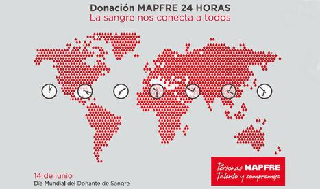 24 horas donando sangre: así se comprometerá MAPFRE en el día mundial del donante de sangre