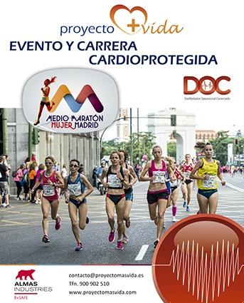La Media Maratón de la Mujer de Madrid cuida el corazón de sus corredoras