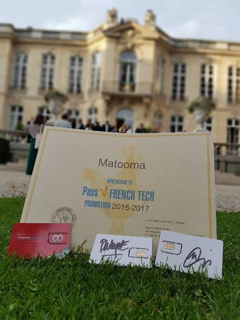 Matooma recibe por segundo año consecutivo el diploma Pass French Tech