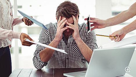 Las expectativas no cumplidas, uno de los principales motivos por los que se padece el 'síndrome del trabajador quemado' o 'burn-out'