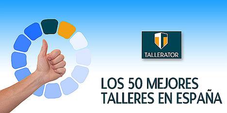 50 Mejores Talleres de España: nueva lista actualizada