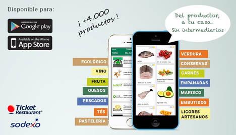 mentta, una app donde hacer la compra con los mejores alimentos del país