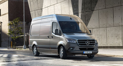 Mercedes presenta la tercera generación de la Sprinter