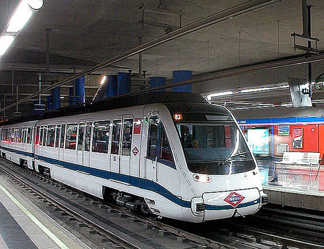 La línea 1 de Metro de Madrid será totalmente bilingüe español-inglés a comienzos de 2019