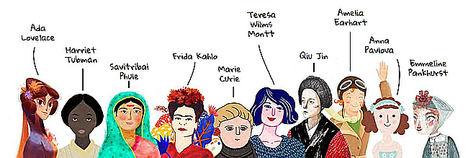 Grandes mujeres como Frida Kahlo, Marie Curie o Amelia Earhart escriben cartas personalizadas a las niñas