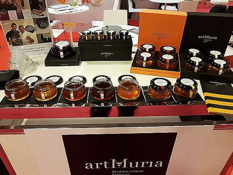 Las mieles de lujo artMuria conquistan el salón francés Gourmet Selection