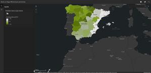 Agua mineral por provincias.