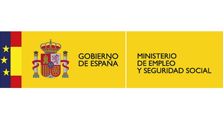 Resultado de imagen de ministerio de empleo y seguridad social logo
