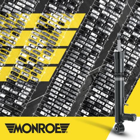 Monroe® produce anualmente más de 100 millones de amortiguadores