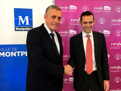 Montpellier, más cerca con los trenes de Alta Velocidad de Renfe-SNCF en Cooperación