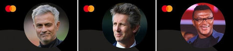 José Mourinho, Edwin Van Der Sar y Marcel Desailly revelan cómo un balón puede empezar una experiencia Priceless® en una entrevista con Mastercard