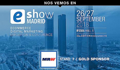 MRW lleva su solución MRW Devoluciones a eShow Madrid