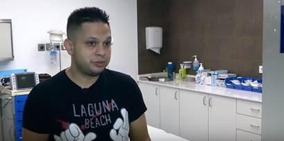 """Víctor Pérez, operario en una fundición: """"Es milagroso que, tras perder los dedos de mi mano, hoy pueda seguir trabajando"""""""