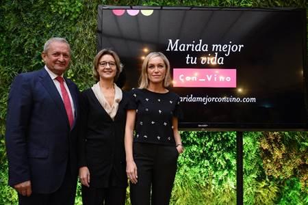 """""""Marida mejor tu vida con vino"""": se presenta la primera campaña del sector del vino español"""