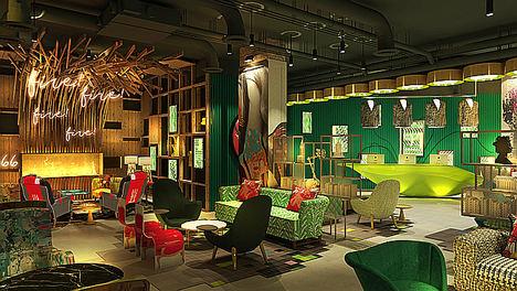 NHow London: un anticipo para conocer el nuevo diseño del hotel con más ambiente de Londres
