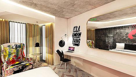 NHow London habitación.