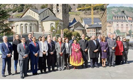 Delegación de Nicaragua participa en la XII Reunión ministerial sectorial de turismo en Andorra