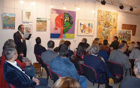 Clausura exposición Nicaragua arte actual en Centro Riojano de Madrid