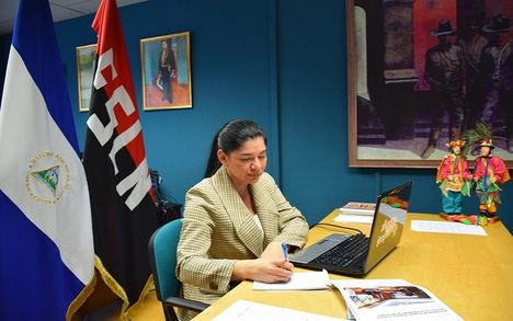 Nicaragua sostiene reunión virtual con la Cámara de Comercio de Granada, España