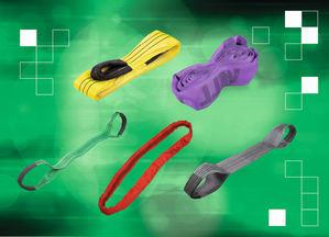 Las eslingas redondas y las correas portadoras planas de norelem ofrecen una alternativa flexible, segura y robusta a las cuerdas y cadenas