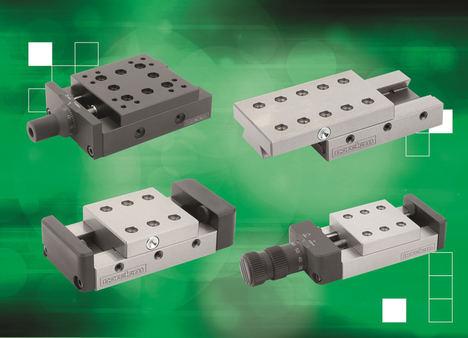 Las guías de norelem tienen una nueva gama modular de posicionamiento de precisión