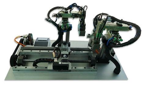 Todo lo que se necesita para una sencilla máquina automatizada de Pick and place