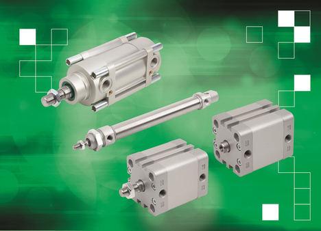 norelem lanza la nueva gama de cilindros neumáticos para diferentes aplicaciones