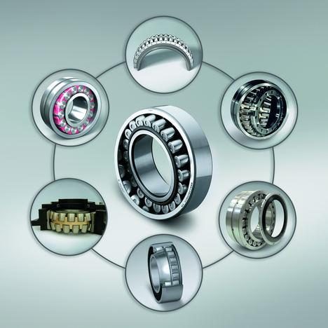 La industria pesada se beneficia de los rodamientos de rodillos esféricos de NSK