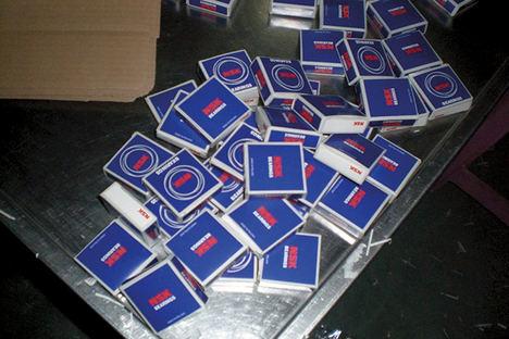 Rodamientos falsificados: conozca los riesgos