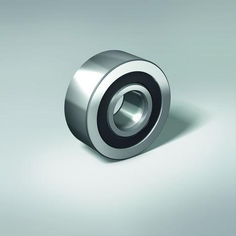 Los rodamientos de polea de NSK corresponden por diseño a un rodamiento sellado de contacto angular de doble hilera.