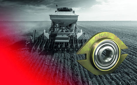 NSK desarrolló esta serie especial NWG de rodamientos de bolas de doble hilera (con brida integrada) para máquinas sembradoras.