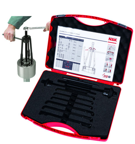 La formación y las herramientas profesionales de NSK prolongan la vida útil de los rodamientos