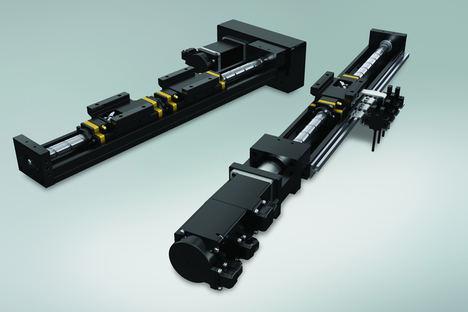 El actuador lineal motorizado demuestra las capacidades de NSK