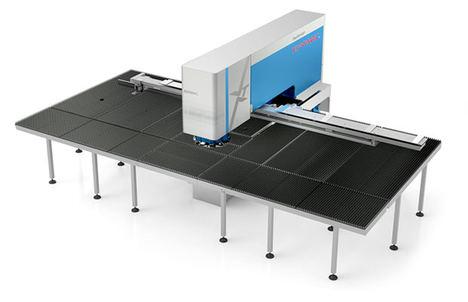 La nueva punzonadora XT de Euromac utiliza soluciones de movimiento lineal de alto rendimiento, robustas y fiables fabricadas por NSK.