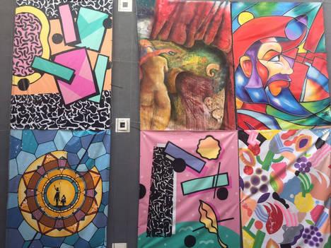 El Mercado de San Ildefonso exhibe 10 obras de casi 10m2 de los pintores urbanos internacionales más vanguardistas