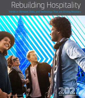 La ocupación hotelera mundial alcanza dos tercios de los niveles anteriores a la pandemia en abril de 2021