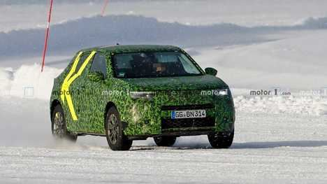 Nuevo Opel Mokka preparando el camino para la producción