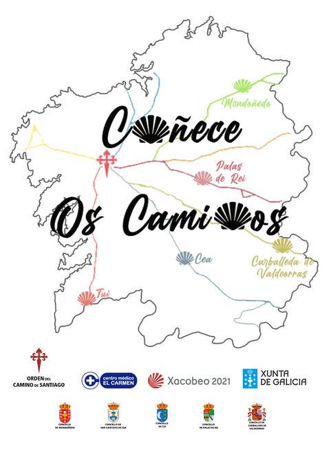 """La Orden del Camino de Santiago pone en marcha el proyecto """"Coñece os camiños"""" a partir de octubre para la promoción y difusión del Camino de Santiago"""