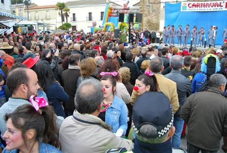 Orellana vive el carnaval repleto de actividades
