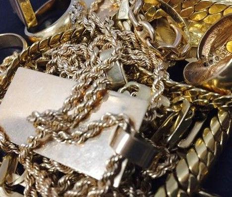 Vender el oro viejo con seguridad