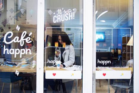 Happn abre su primer 'Happn Café' en Le Marais, el barrio más de moda de París