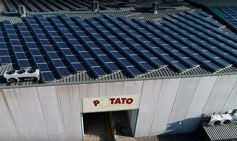 Patatas Gómez certifica su autoconsumo renovable y la reducción de emisiones con el sello ECO20® Silver