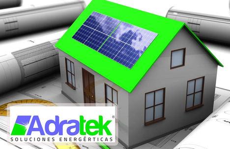 Ahorrar energía con las placas solares, por ADRATEK